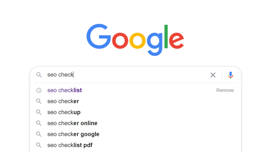 seo checklist - lsi keywords